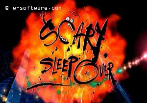 Scary sleep over